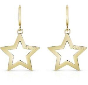 【送料無料】アクセサリー ネックレス イヤリングコレクションゴールドorecchini guess starlicius collection ube84012 gold