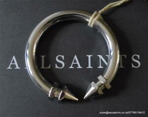 【送料無料】アクセサリー ネックレス シルバーブレスレットtutti i santi nevena braccialetto in argento lucido colore bnwt 48