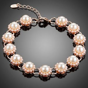 【送料無料】アクセサリー ネックレス ビーズブレスレットin erba fiore perle braccialetto per donne ragazze donna mbr0125