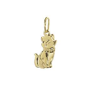 【送料無料】アクセサリー ネックレス チェーントレーラーイエローゴールドキャットウーマンpiccole catene gatto rimorchio 333 giallo oro gatto donna ragazza bambini 7800