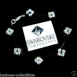 【送料無料】アクセサリー ネックレス フローティングスタースワロフスキーシルバーブレスレットfloating star w swarovski sposa fiore argento braccialetto