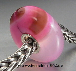 【送料無料】アクセサリー ネックレス ストライプアガタピンクtrollbeads * rosa con strisce agata * 07