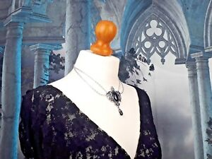 【送料無料】アクセサリー ネックレス ネックレスゴシックピューターシルバーペンダントcollana donna gotico seraph angel wing originale alchimia peltro dargento ciondolo