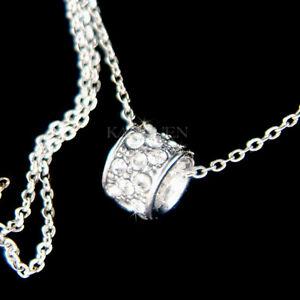 【送料無料】アクセサリー ネックレス リングサークルスワロフスキークリスタルシンプル~ graziosa anello circle of love fatto con swarovski cristallo everyday simple