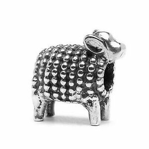 【送料無料】アクセサリー ネックレス シルバーラムビードtrollbeads bead in argento agnellino tagbe10059