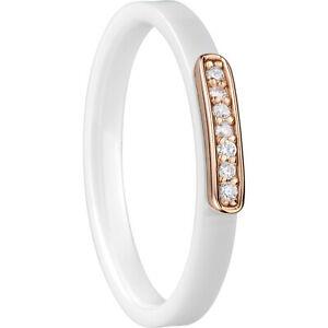 【送料無料】アクセサリー ネックレス ×セラミックホワイトnuova inserzionebering anello interno 573537x1 ceramica zirconi bianco