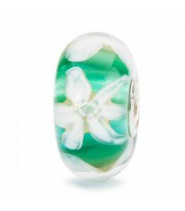 【送料無料】アクセサリー ネックレス オリジナルガラスビードtrollbeads bead in vetro fiore della speranza tglbe10444 originale