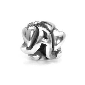 【送料無料】アクセサリー ネックレス シルバービードtrollbeads bead in argento lettera iniziale a tagbe10060