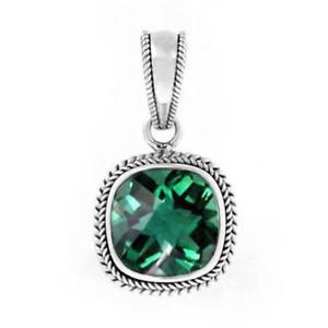 【送料無料】アクセサリー ネックレス ペンダントスターリングシルバーpendente argento sterling con quarzo verde nklp001gq
