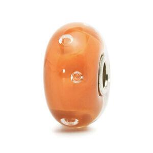 【送料無料】アクセサリー ネックレス ガラスバブルビードtrollbeads bead in vetro bolla pesca tglbe10138