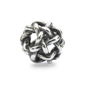 【送料無料】アクセサリー ネックレス ビードtrollbeads bead in argento notte stellata tagbe10106