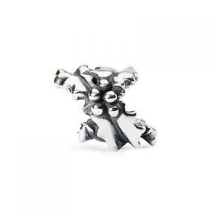 【送料無料】アクセサリー ネックレス シルバーヒイラギビードtrollbeads bead in argento agrifoglio tagbe10039