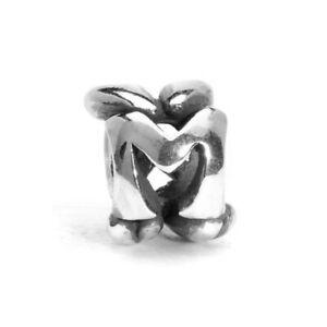 【送料無料】アクセサリー ネックレス シルバービードtrollbeads bead in argento iniziale lettera m tagbe10072