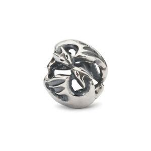【送料無料】アクセサリー ネックレス シルバードラゴンダンスビードtrollbeads bead in argento dragoni danzanti tagbe10186