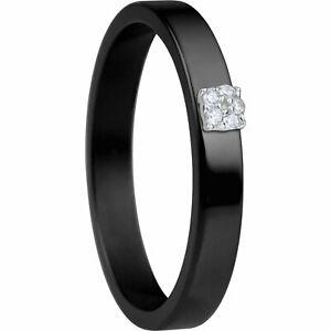 【送料無料】アクセサリー ネックレス ベーリングブラックセラミックbering anello interno 57567x2 ceramica neri