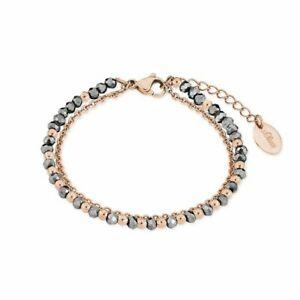 【送料無料】アクセサリー ネックレス オリバーブレスレットステンレススチールsoliver jewel da donna bracciale acciaio inox ip rosato 2018351