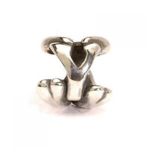 【送料無料】アクセサリー ネックレス シルバービードtrollbeads bead in argento lettera iniziale y tagbe10084