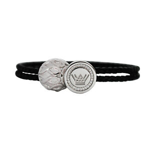 【送料無料】アクセサリー ネックレス レザーブレスレットバックルビーズin pelle bracciale con charm donne argento sterling fibbia infinity perline 3 colori regalo