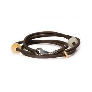 【送料無料】アクセサリー ネックレス ファッションカフmoda trollbeads bracciale cuoio marrone 41cm tlebr00005