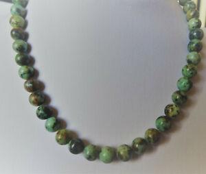 【送料無料】アクセサリー ネックレス コリアービンテージドターコイズアフリクcollier vintage de perles en turquoise dafrique