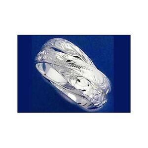【送料無料】アクセサリー ネックレス スターリングシルバーハワイアンプルメリアマイレスクロールリングargento sterling 925 3 in 1 hawaiano inciso plumeria scorrere maile anello