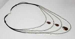 【送料無料】アクセサリー ネックレス クリスタルカラーデmltipla collar del cuero y cristal, hecha de mano,uno diferente de 50