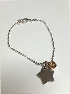 【送料無料】アクセサリー ネックレス カフペンダントシルバーbracciale ciondolo stella donna argento 925