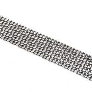 【送料無料】アクセサリー ネックレス グロブレスレットビンテージアルジェントgros bracelet vintage original ceinture plaqu argent maille 20cm bijou