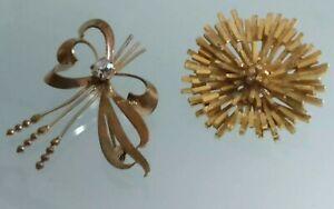 【送料無料】アクセサリー ネックレス ピンビンテージ2 pin vintage di 50 metallo dor