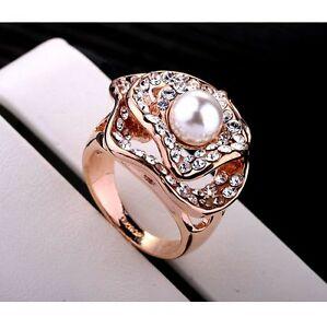 【送料無料】アクセサリー ネックレス ゴールドリングprezioso donna lusso perla anello in oro 75018krgp di fidanzamento idea regalo