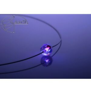 【送料無料】アクセサリー ネックレス コリアーネックレスボールフクシアクリスタルcollier cristallo ball fucsia cristallo con elementi swarovski leuchtete collana