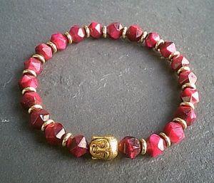 【送料無料】アクセサリー ネックレス ブレスレットda donna in agata gemma buddha braccialetto regalo cristallo guarigione naturale uk venditore