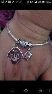 【送料無料】アクセサリー ネックレス カスタマイズハートpersonalizzato foto incisa argento sterling charm cuore amp; ferro allegato