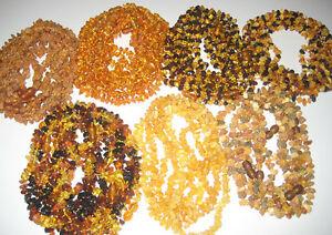 【送料無料】アクセサリー ネックレス バルトネックレスlot10 vera ambra baltica bambini collane 33cm scegli il tuo colore