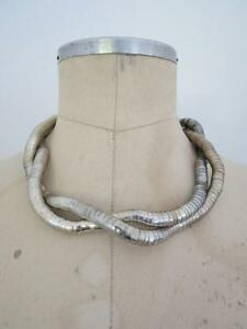 【送料無料】アクセサリー ネックレス ネックレスチョーカーヘビバッチスネークスキンクールcollana girocollo pelle di serpente snodato lotto flessibile snake skin cool