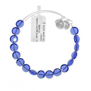 【送料無料】アクセサリー ネックレス アレックスサファイアブレスレットシルバーalex and ani zaffiro bracciale in argento luxe perline bbeb 113 srrp 33