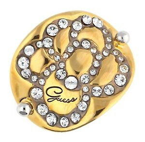 【送料無料】アクセサリー ネックレス リングゴールドシルバーguess donna dito anello oroargento ubr11305