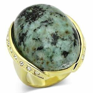 【送料無料】アクセサリー ネックレス リングゴールドターコイズリング844 blu mare verde naturale anello oro 14k turchese ovale anello prezioso designner