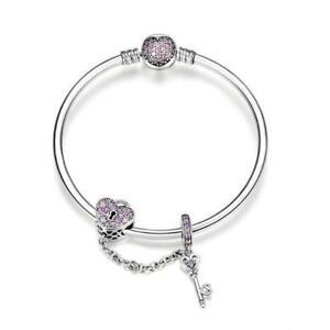 【送料無料】アクセサリー ネックレス スターリングシルバーキーパドロックcuore amore lucchetto chiave originale charm in argento sterling 925