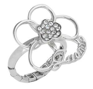 【送料無料】アクセサリー ネックレス guess da donna anello dito altro argento ubr31112l