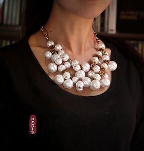 【送料無料】アクセサリー ネックレス ネックレスネックパールネックレスオリジナルバロックレトロcollana ras collo perla due collana multitaille barocco originale retr sd 1