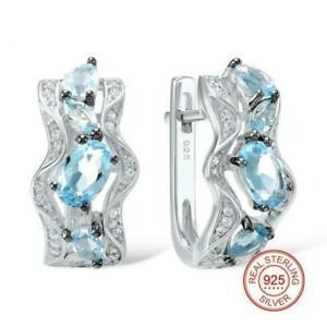 【送料無料】アクセサリー ネックレス スターリングシルバーファッションイヤリングロボblu delicata ondulato argento sterling 925 moda orecchini a lobo s01