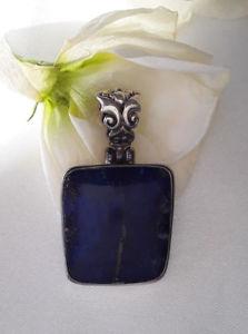 【送料無料】アクセサリー ネックレス モダンアルジェントラピスラズリagnes creations sympa pendentif femme moderne en argent 925 orn lapis lazuli
