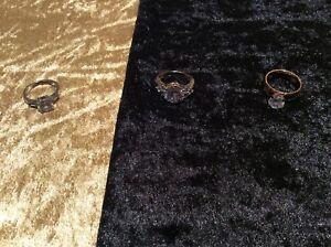 【送料無料】アクセサリー ネックレス リングビンテージリングselezione di anelli vintage bigiotteria, tra cui 925 anelli ss