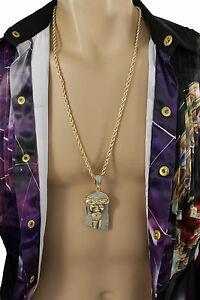 【送料無料】アクセサリー ネックレス メタルマンチェーンネックレスファッションシルバーゴールドイエスキリストuomo collana catena di metallo lungo moda argento oro grande ges cristo