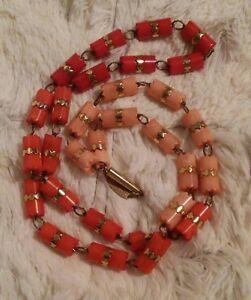 【送料無料】アクセサリー ネックレス ネックレスデザイナービンテージピンクバックルネジwilma spagli collana designer a vite fibbia rosa a rossi bellissimo vintage