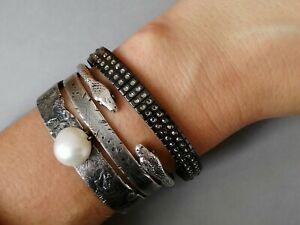 【送料無料】アクセサリー ネックレス スワロフスキークリスタルカフカフブレスレットgenuine swarovski crystal bracciale bracciale braccialetto flessibile mediopiccole