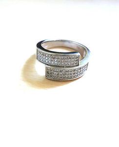 【送料無料】アクセサリー ネックレス スターリングシルバーリングbn affascinante anello con zirconi made in argento sterling 925