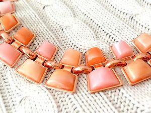 【送料無料】アクセサリー ネックレス ピンクゴールドオレンジジュエリーネックレスoro rosa e agata arancione bigiotteria collana