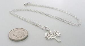 【送料無料】アクセサリー ネックレス チェーンスターリングシルバーネックレスペンダントツリーalbero della vita argento sterling collana ciondolo, regalo per le donne, con catena